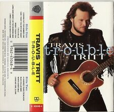 T-r-o-u-b-l-e by Travis Tritt (Cassette, Aug-1992, Warner Bros.) USEDVG