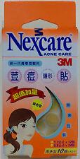 3M Nexcare Acne Clear Cover CARE DRESSING PIMPLE STICKERS PATCH 46PCS