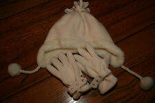 Little Girls Hat and Gloves Size Youth 4-7