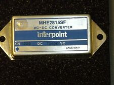 Brand New Interpoint DC to DC Converter & Switching Regulator Module #MHE2815S