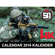 2014 HECKLER KOCH HK 50th Anniversary COLLECTORS CALENDAR MP5 VP9 P7 USP HK45