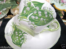 SHELLEY TEA CUP AND SAUCER LILY OF THE VALLEY PATTERN TEACUP