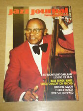 JAZZ JOURNAL INTERNATIONAL VOL 32 #6 1979 JUNE ED GARLAND CHARLIE PARKER
