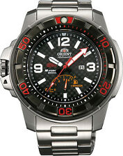 Orient SEL06002B Men's Ltd X STI M-Force Power Reserve Automatic Diver Watch
