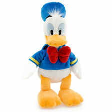 "Disney Authentic Patch Donald Duck BIG Plush 18"" Stuffed Animal Gift NEW"