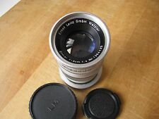 Leica 90mm Elmar f/4 Lens in Leica M Mount in Feet Scale
