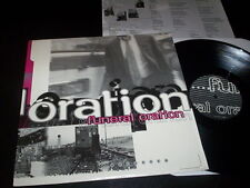"Funeral Oration ""Believer"" LP with insert Hopeless Records ‎– HR616-2 Usa 1997"