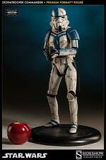 SIDESHOW STAR WARS STORMTROOPER COMMANDER 1/4 SCALE PREMIUM FORMAT STATUE NEW