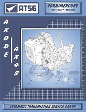 ATSG Ford AXODE AX4S Transmission Rebuild Instruction Service Tech Manual 86400E