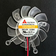 65mm VGA Video Card Fan For Asus 8600GT 9500gt  YD127015LS