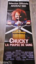 JEU D'ENFANT child's play 2 chucky la poupee de sang  !  affiche cinema