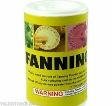 Fanning Powder 2oz/57grams - 4 Card Magicians & Manipulators -Make Old Decks New