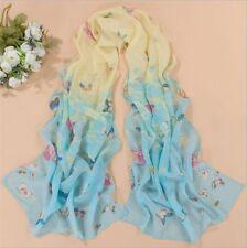 New!! Fashion Stylish Women Long Soft Silk Chiffon Scarf Wrap Shawl Scarves AB-3