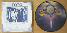 "EX! TOTO HOLD THE LINE b/w TAKIN' IT BACK 7"" VINYL Picture Pic Disc (12 - 6784)"