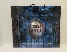 Disney's HAUNTED MANSION MOVIE Collectible Gift Bag Shopping Tote Promo Piece