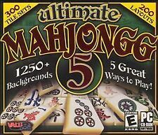 Ultimate Mahjongg 5 (Jewel Case) Atari Video Game