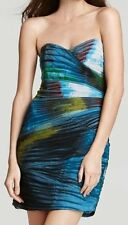 "BCBG NWT ""Winnie"" Aqua  Party Dress New 10 $328 ROX6I162"