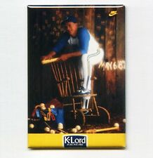 GAYLORD PERRY / K-LORD - MINI POSTER FRIDGE MAGNET (nike 1986 vintage jersey)
