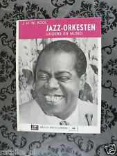 ALL ABOUT JAZZ ORCHESTRAS BOOK,BLAKEY,MORTON,ELLINGTON,ARMSTRONG,HAWKINS,COUNT B