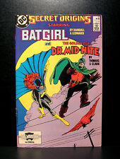 COMICS: DC: Secret Origins #20 (1980s), Batgirl/Dr Mid-nite - RARE (batman)