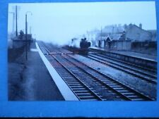 PHOTO  CREECH ST MICHAEL RAILWAY STATION 1961  VIEW OF THE STATION WITH A PANNIE