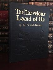 Easton Press Marvelous Land of Oz by Frank Baum Mint Leather Bound Wizard Book 1