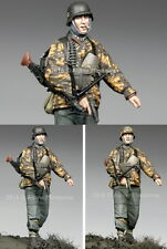 Alpine Miniatures 1/35 German MG Schutze KG Hansen (Figure w/2 Different Heads)