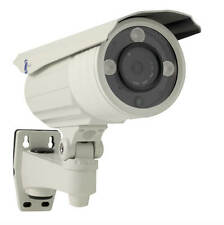 "LineMak Bullet camera, 1/3"" HD Sensor, 800TVL, 8mm lens, 3 LEDs Array, IP66."