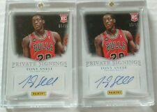 2014-15 Tony Snell Panini Private Signings ROOKIE auto 2 lot 1/1 (1/15 & 15/15)