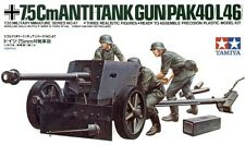 Tamiya 1/35 German 75mm Anti Tank Gun # 35047