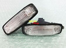 Pair Side Marker Turn Signal Lights Lamp Clear Lens For 1996-2001 Honda Accord