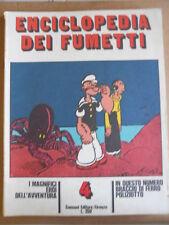 Enciclopedia dei Fumetti Fascicolo 4 ed. Sansoni 1970 -  [G506] BRACCIO DI FERRO
