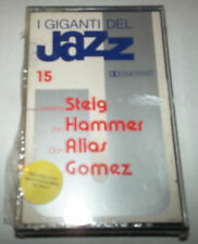 Giants of Jazz 15 Steig,Hammer, Allas, Gomez- Cassette -SEALED