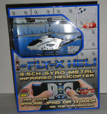 I-Fly-x GYRO Heli Metal 3.5CH Infrared Helicopter Controlled by iPhone/iPad/iPod