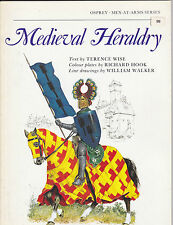 MEDIEVAL HERALDRY - UNIFORME MEDIEVAL - BLASON - By TERENCE WISE