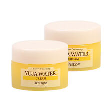 SKINFOOD Yuja Water C Cream Samples - 10ml x 2ea