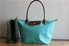 *New* LONGCHAMP LE PLIAGE SHOPPING BAG LARGE Lagoon