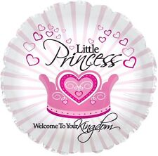 "Welcome Little Princess 17"" Balloon Baby Shower Decorations"