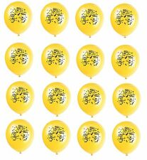 """(16ct) Despicable Me 2 Minions Birthday Latex Balloons Party Supplies 12"""""""