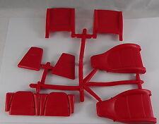 Pocher 1:8 Porsche Sitze rot Gummi 911 K 30 K 31 Carrera neu OVP i10