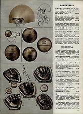 1959 PAPER AD Baseball Glove Jim Finigan Ted Williams Fieldmaster Rocky Colavito