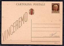 11944 REGNO 30 CENTESIMI SU CARTOLINA POSTALE CON DECALCO AL VERSO D/1344