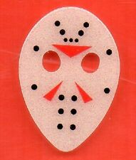 FRIDAY THE 13TH~JASON MASK GLOW IN DARK GUITAR PICK BUY 3 GET..the 4th FREE!!