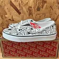 VANS AUTHENTIC TRUTH KEVIN LYONS TRUE WHITE BLACK SIZE 9.5 NEW IN BOX