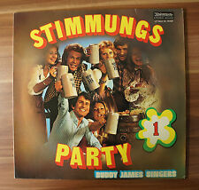 "12"" LP Vinyl Stimmungsparty 1 Buddy James Singers 74137"