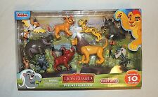 New Disney Junior Lion Guard Complete Set 10 Piece Simba Kion Bunga Timon Ono