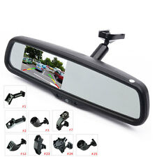 "Car Interior Replacement Rear View Mirror Built in 4.3"" TFT LCD Monitor+ Bracket"