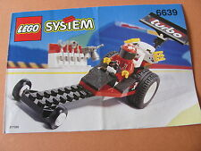 LEGO 6639 @@ NOTICE / INSTRUCTIONS BOOKLET / BAUANLEITUNG 1