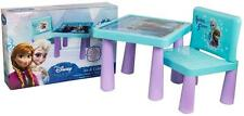 Disney Frozen Sit & Couleur Dessin Coloriage Art bureau chaise de table lot jeu cadeau