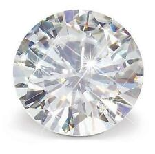 Forever Brilliant Moissanite 10 mm Round Brilliant Cut Stone